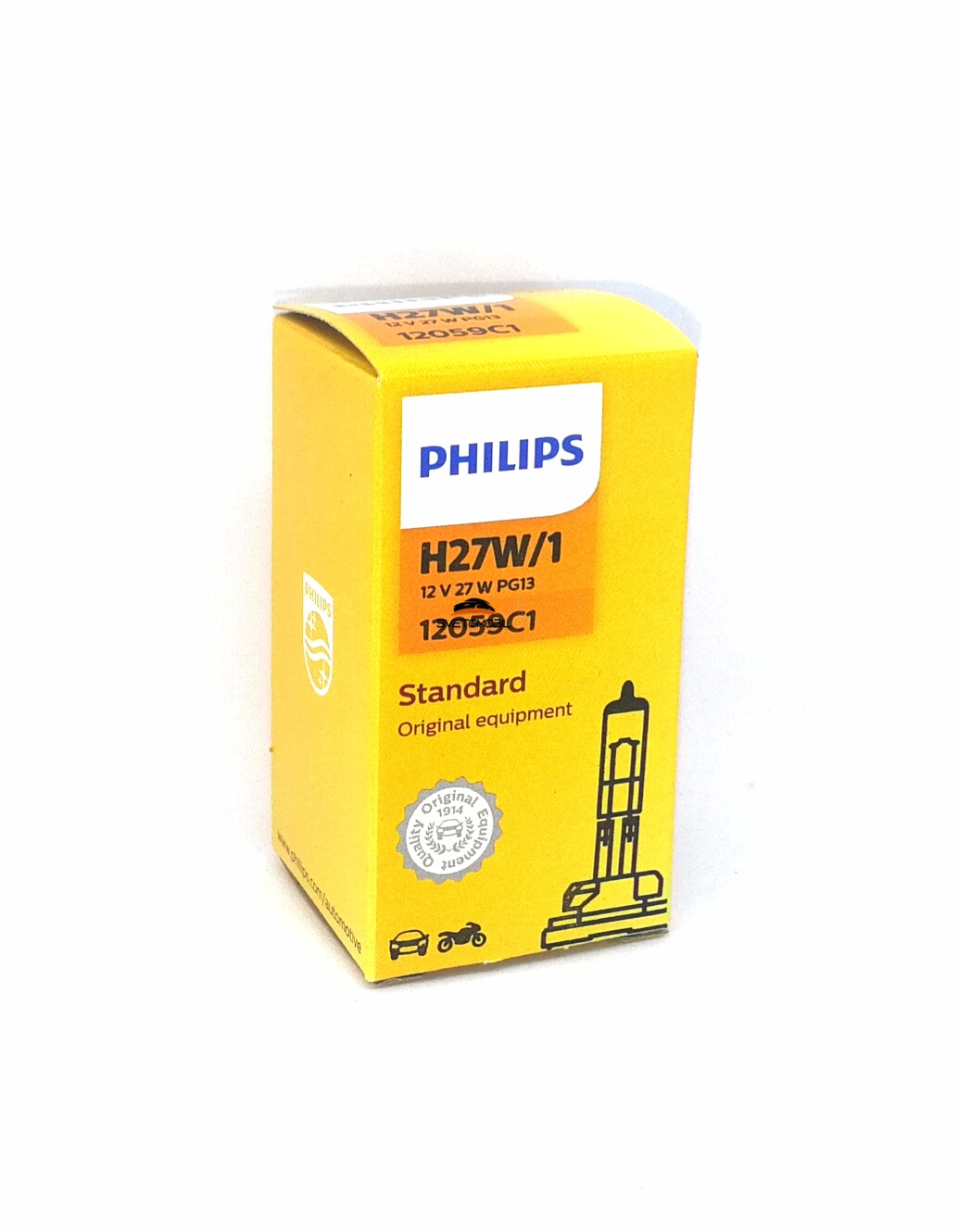 Philips Vision H27W/1 12V/27w