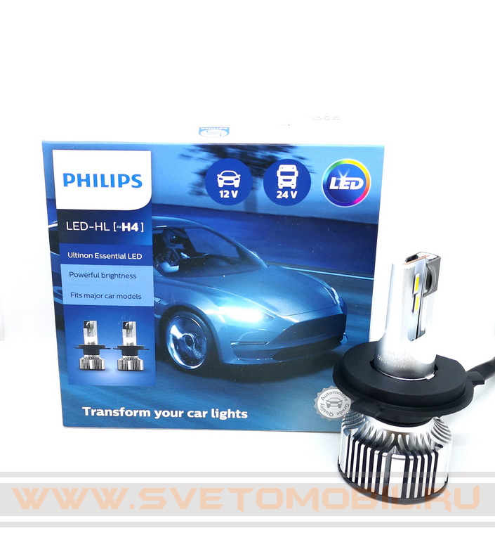 Philips Ultinon Essential LED H4