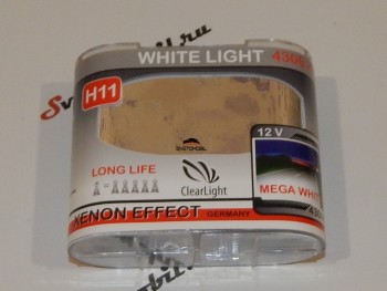 Галоген ClearLight White Light  H11