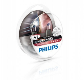 Philips Vision Plus + 60% H1 12V/55 w