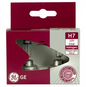 General Electric Megalight Ultra + 90% H7 12V/55 w