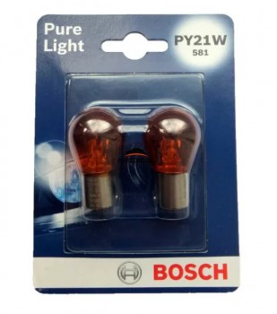 Bosch Pure Light PY21W (оранжевый)