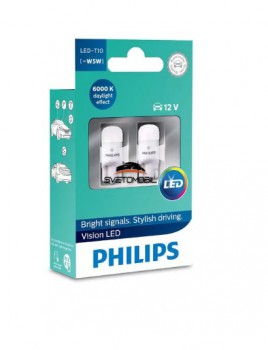 Philips Vision LED W5W (T10) 6000K