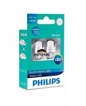 Philips Vision LED W5W (T10) 4000K