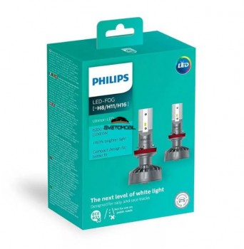 Philips X-treme Ultinon LED  Н8/Н11/H16 15w (11366ULWX2)