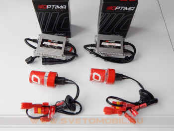 Комплект ксенона Optima Red Line ARX-104 Slim H1 35w